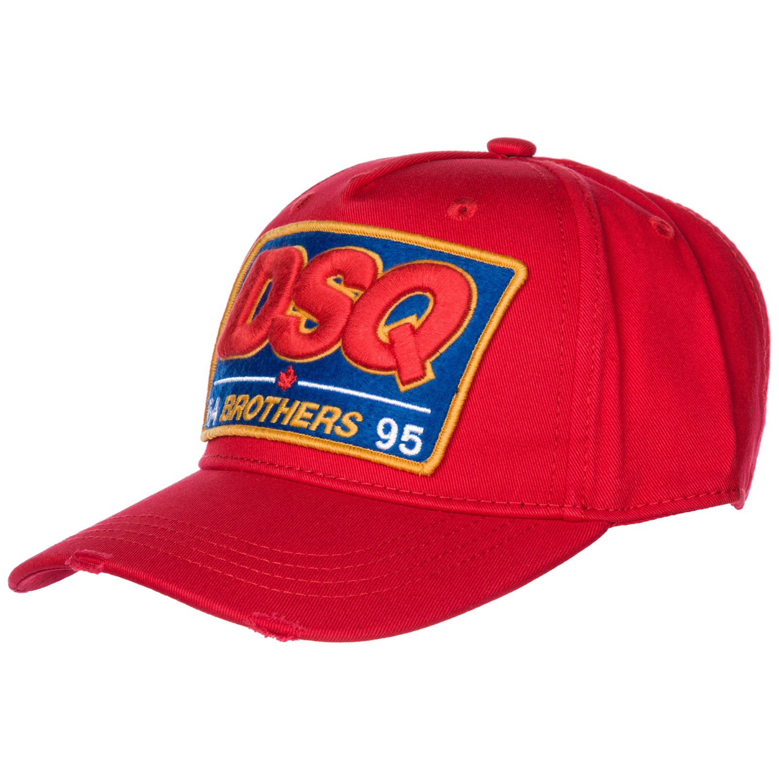 Baseball cap Dsquared2 DSQ Brothers BCM400305C000014065 rosso ... a0cd4d77feb