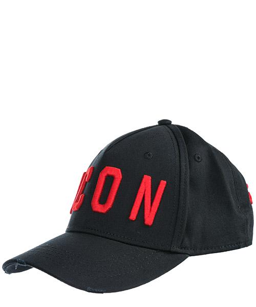 Baseball cap Dsquared2 Icon BCM400105C00001M002 nero + rosso