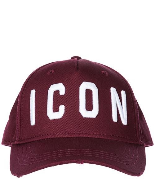 Cappello berretto regolabile uomo in cotone baseball icon secondary image
