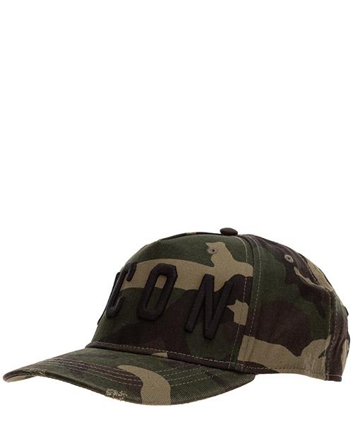 Baseball cap Dsquared2 icon BCM400108C03209M1116 camouflage