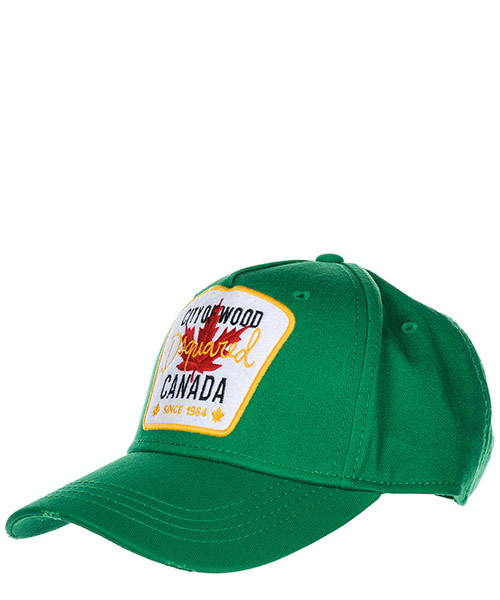 Cappello baseball Dsquared2 City of Wood BCM400205C000018079 smeraldo