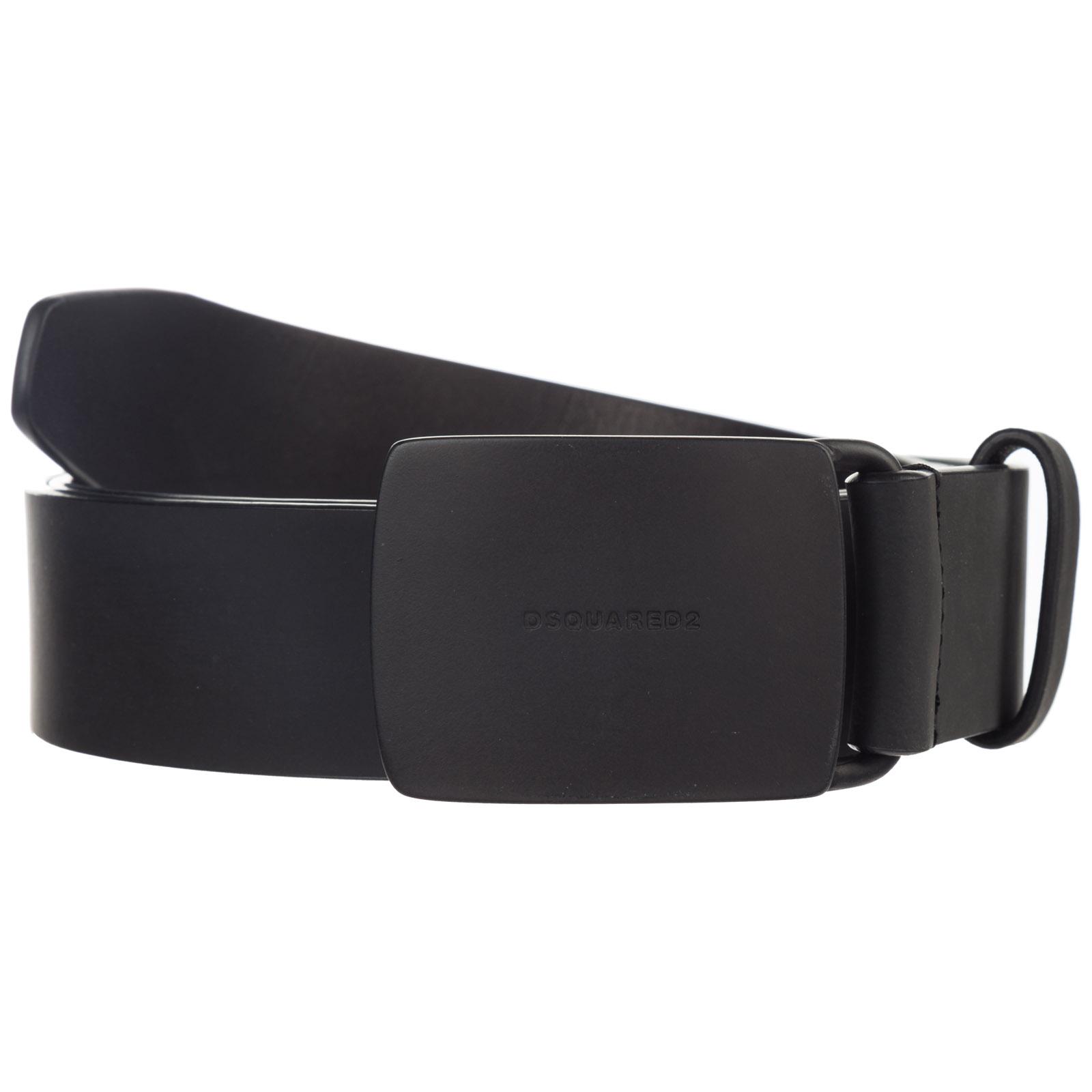 Men's genuine leather belt  techno gummy