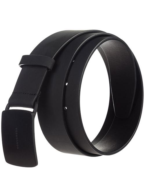 Men's genuine leather belt  techno gummy secondary image