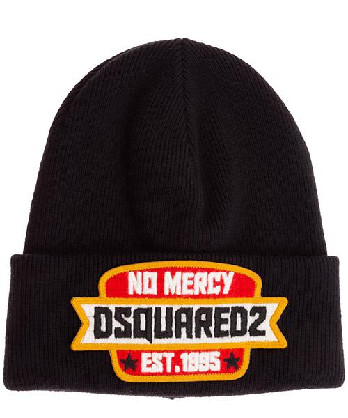 Beanie Dsquared2 no mercy KNM000101W035322124 nero