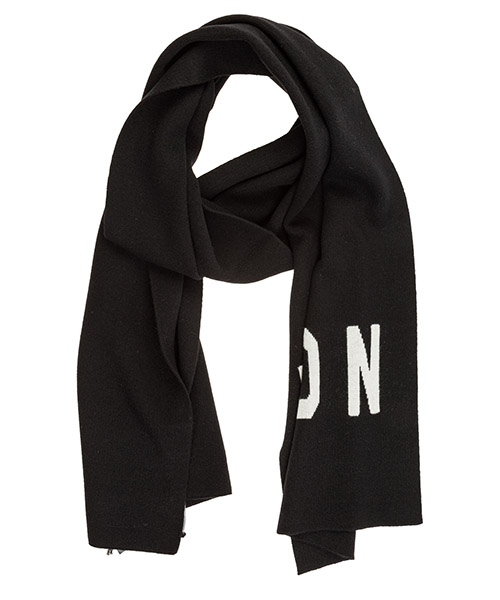 Scarf Dsquared2 Icon KNM003401W021892124 nero