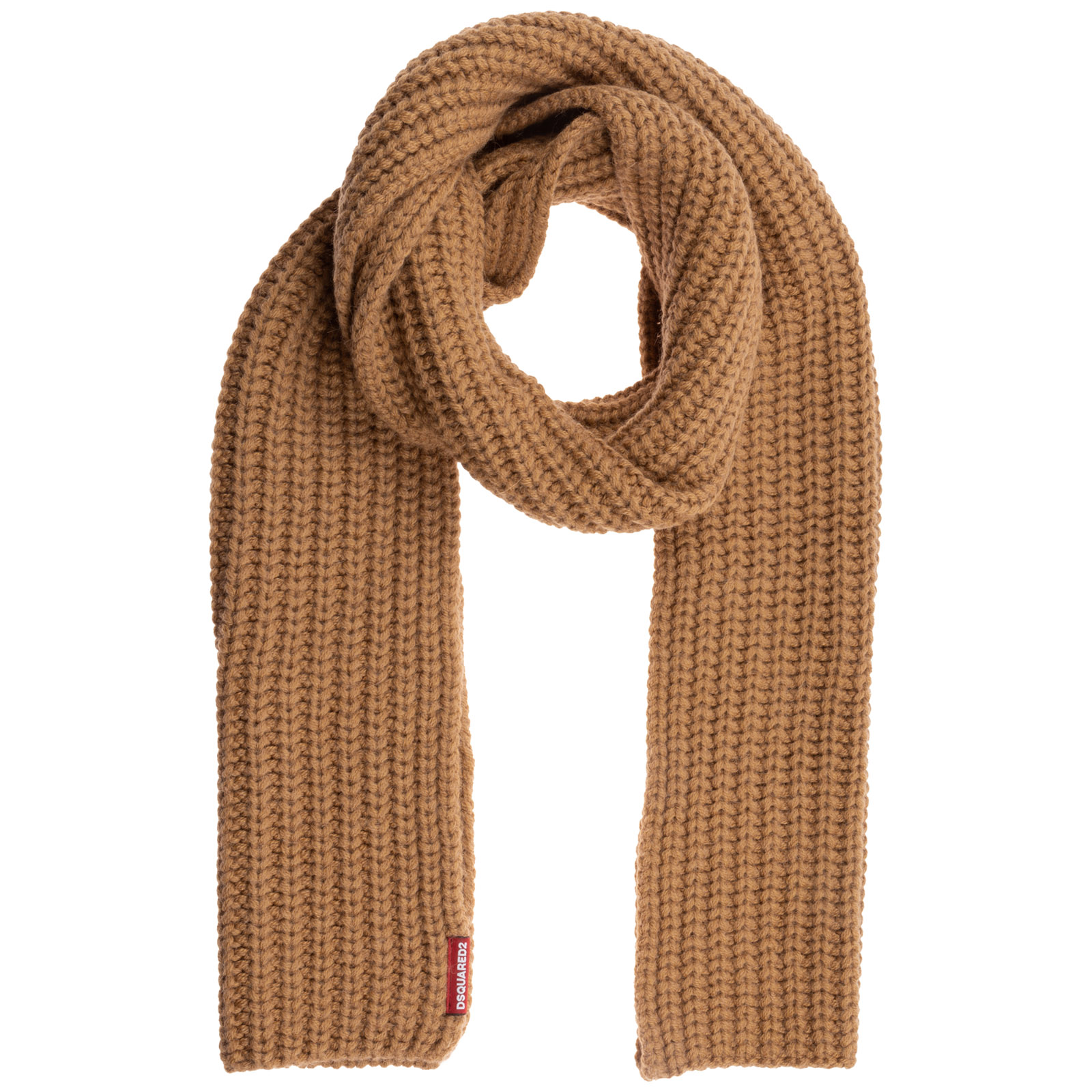 Dsquared2 Men's Scarf In Brown