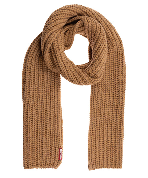 Scarf Dsquared2 KNW001301A015955092 camel