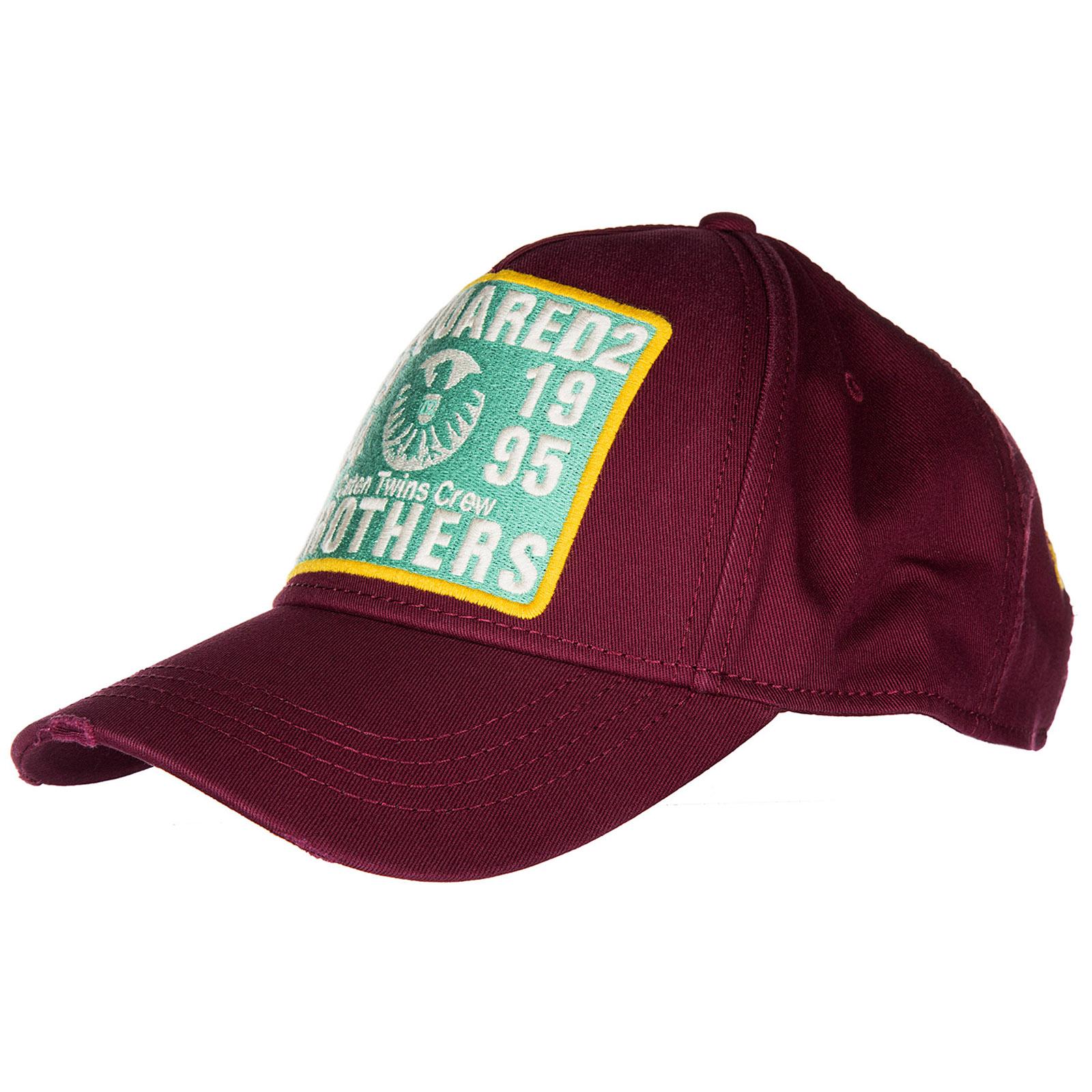 Cappello berretto regolabile uomo in cotone gabardine