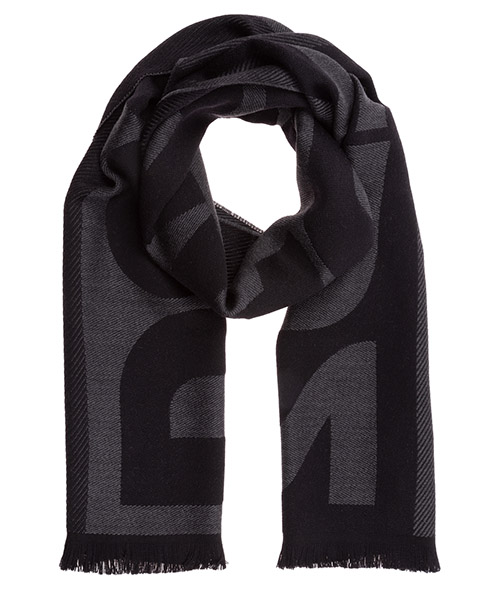 Wool scarf Dsquared2 SCM001501W01070M481 nero