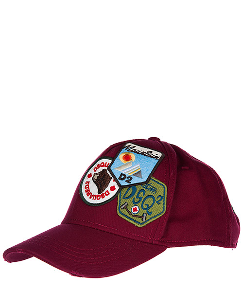 Cappello baseball Dsquared2 Bad Scout W17BC401405C4066 bordeaux