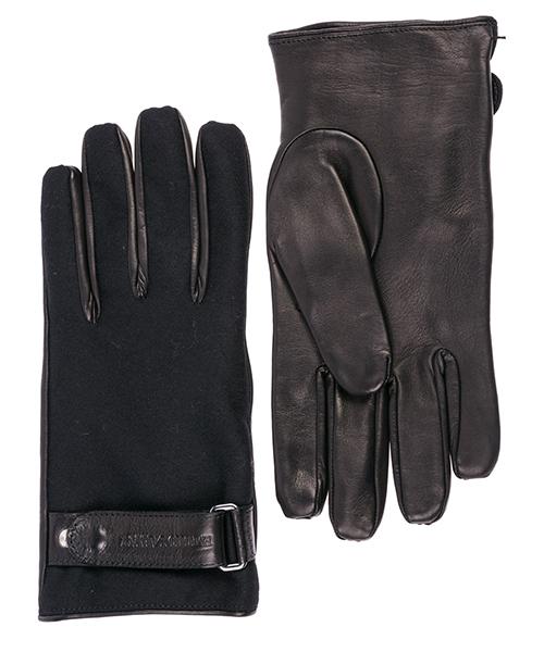 Guanti Emporio Armani 3245068A24300020 black