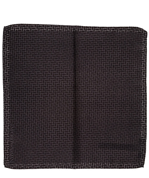 Pocket square Emporio Armani 3400338P35100020 nero