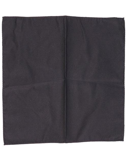 Pocket square Emporio Armani 3400338P49900020 black