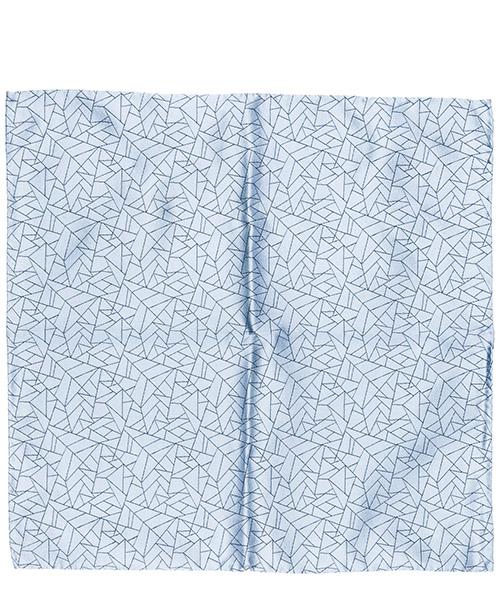 Pañuelo de bolsillo Emporio Armani 3400339P32213030 blu