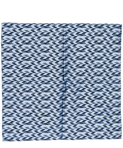 Pocket square Emporio Armani 3400339P32457235 blu