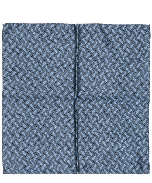 Pocket square Emporio Armani 3400339P32700042 blu