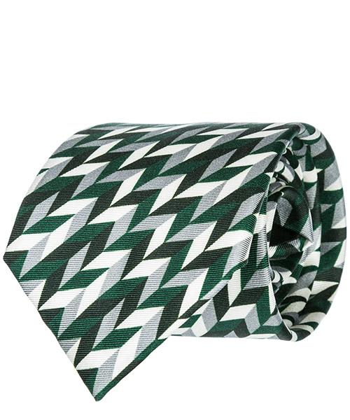 Tie Emporio Armani 3400759P20002485 verde
