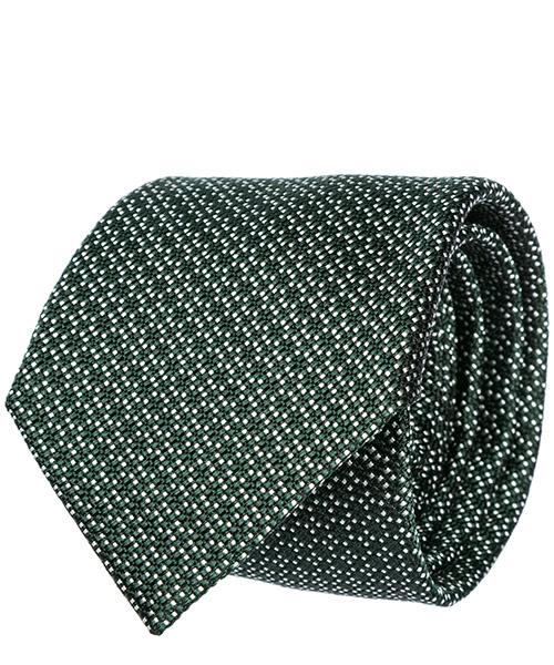 Tie Emporio Armani 3400759P30702485 green / white
