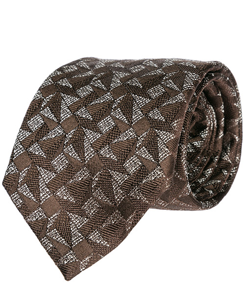 Tie Emporio Armani 3400759P32302954 brown