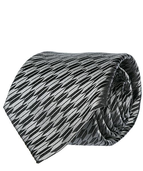 Tie Emporio Armani 3400759P32500020 grey / black