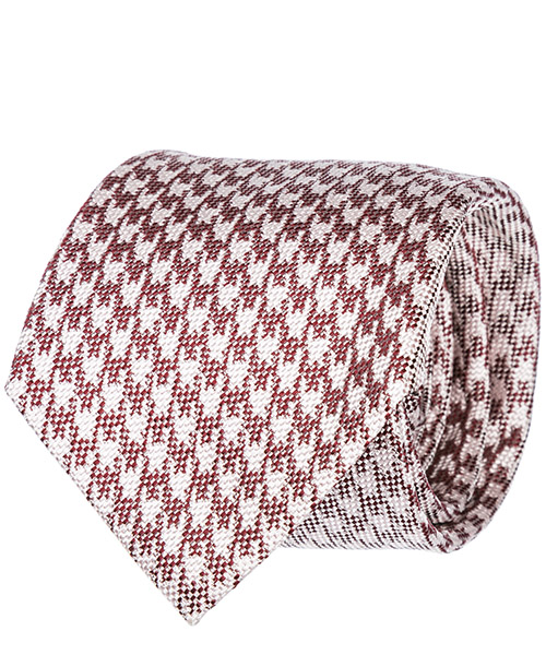 Tie Emporio Armani 3400759P33310476 red / white
