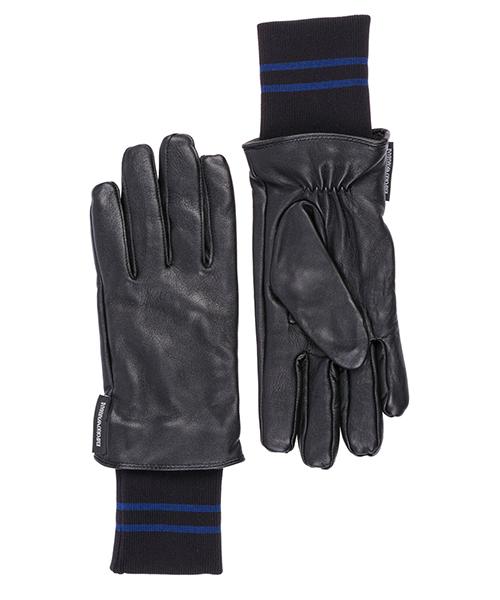 Gloves Emporio Armani 6245038A22700020 black