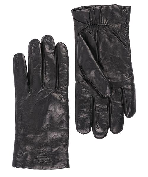 Guanti Emporio Armani 6245148A24900020 black