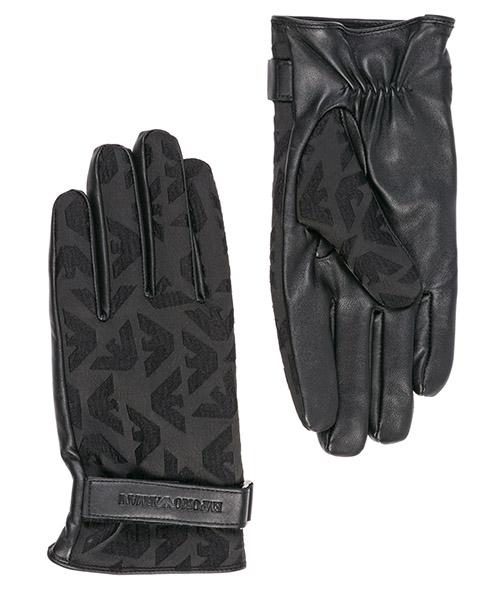 Guanti Emporio Armani 6245229A24900020 black