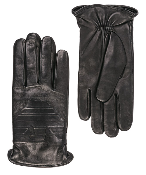 Gloves Emporio Armani 6245239A25000020 black