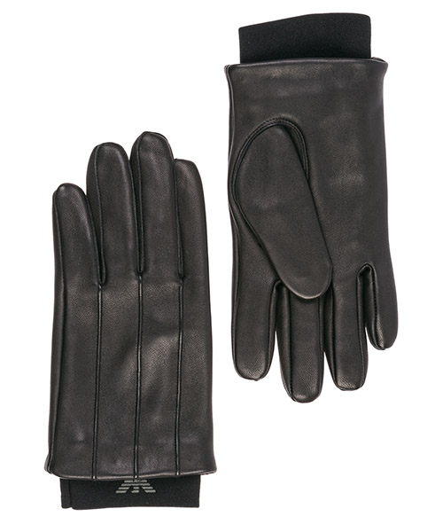Gloves Emporio Armani 6245259A22700020 black