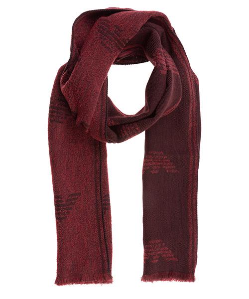 Bufanda Emporio Armani 6250390A33900173 ruby red