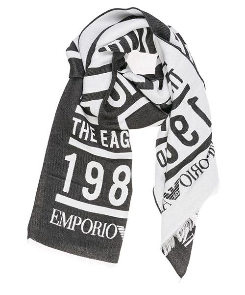 Schal Emporio Armani 6250529A35200020 black