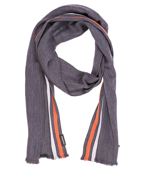 Sciarpa lana Emporio Armani 6250558A37621744 grey / orange