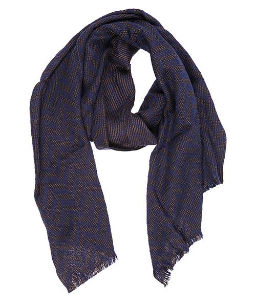 Sciarpa lana Emporio Armani 6250578A37903536 blue / beige