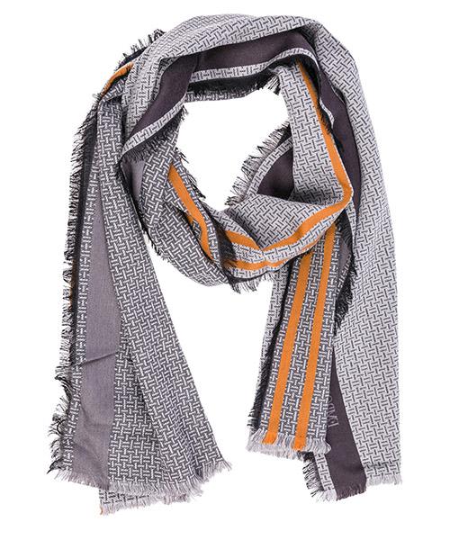 Sciarpa lana Emporio Armani 6250588A38000041 grigio