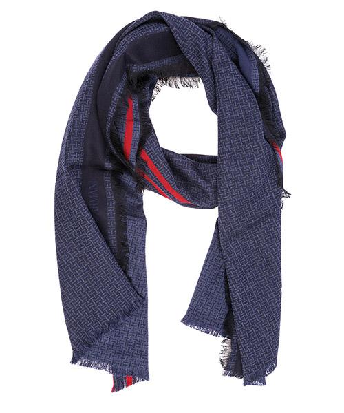 Sciarpa lana Emporio Armani 6250588A38012934 insignia blue