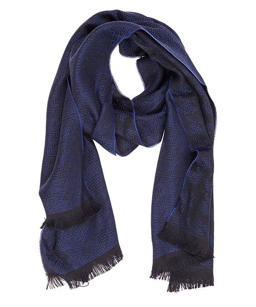 Sciarpa lana Emporio Armani 6250598A38724133 surf blue