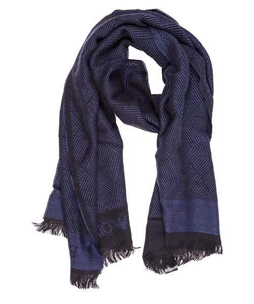 Sciarpa lana Emporio Armani 6250618A38911136 blue / black