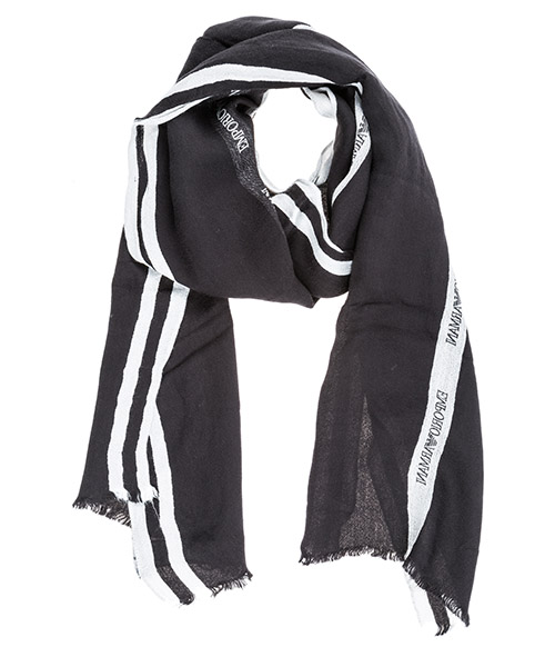 Scarf Emporio Armani 6250619P38100020 black