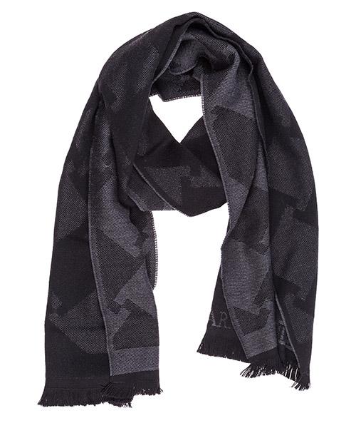 Sciarpa lana Emporio Armani 6250628A39000321 black / grey