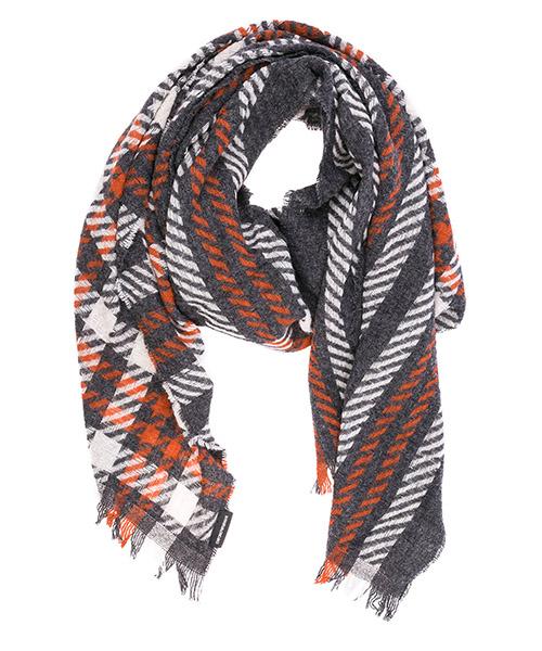Stola Emporio Armani 6252528A35205344 grey / orange