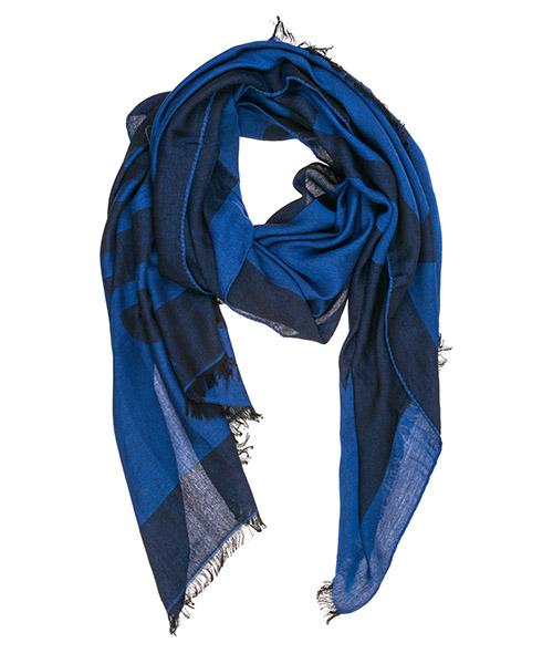 Écharpe Emporio Armani 6252529a35557235 peacot blue