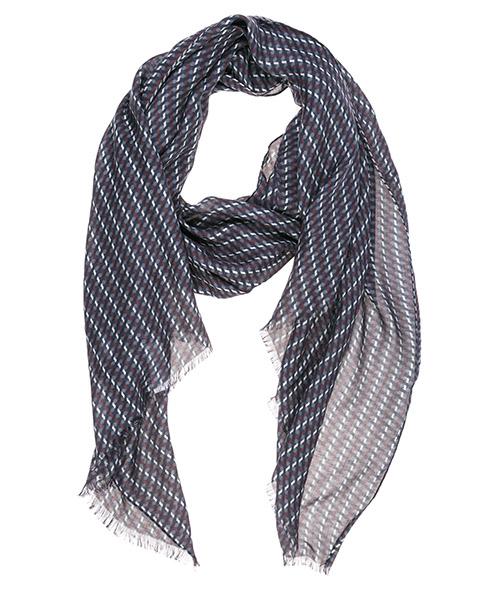 Bufanda Emporio Armani 6252609A38209549 blue graphite