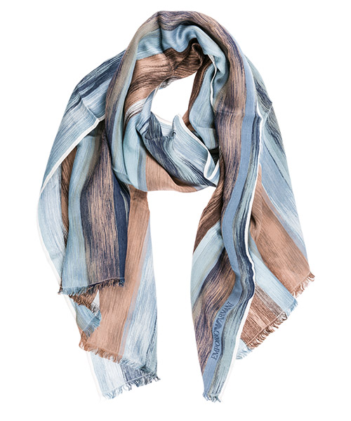 Stola Emporio Armani 6252809P37806835 blue / pink