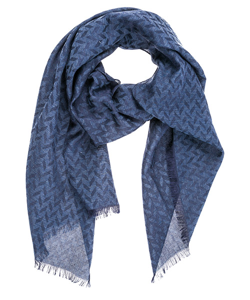 Stole Emporio Armani 6252829P38057235 peacot blue