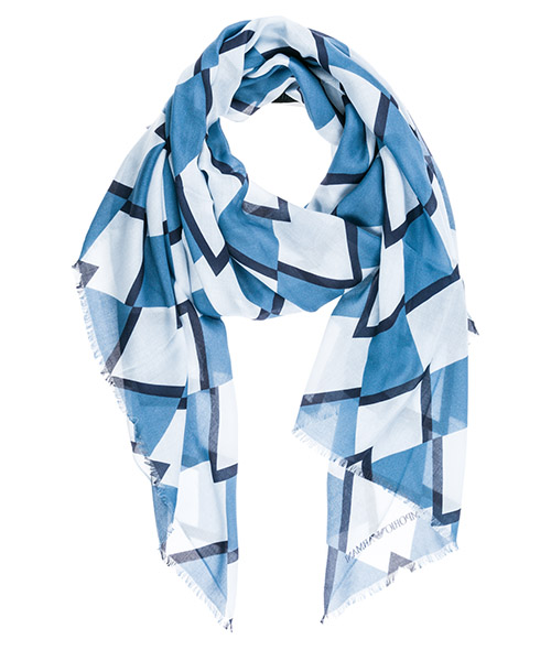 Stola Emporio Armani 6252919P39013030 celestial blue