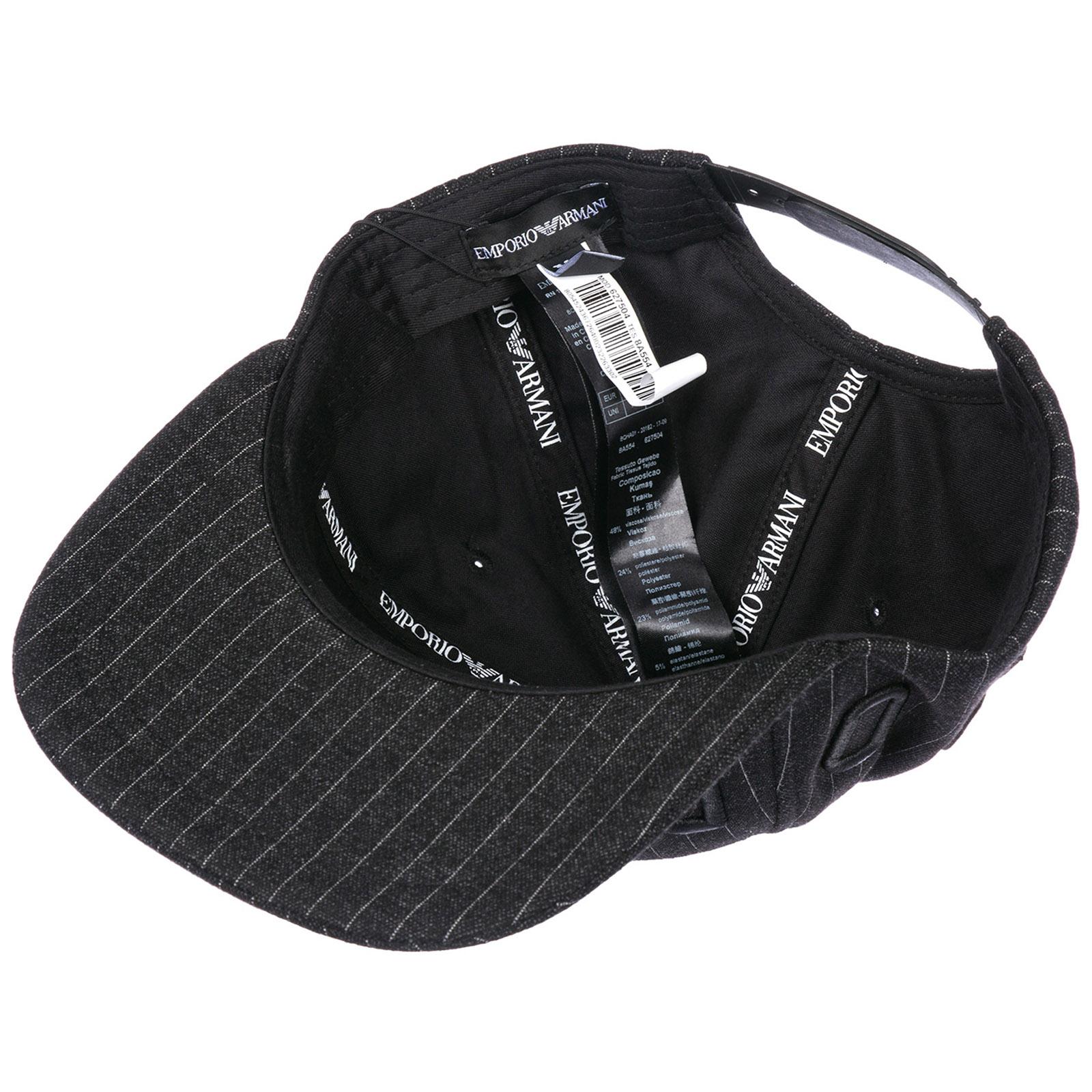 fb9eedce29aae Baseball cap Emporio Armani 6275048A55400020 black