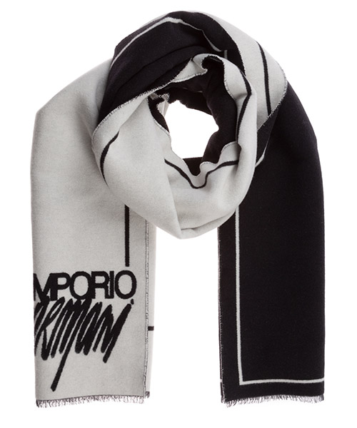Schal Emporio Armani 6350010a30113240 black