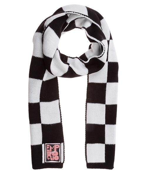 Schal Emporio Armani 6350400a51400911 white / black
