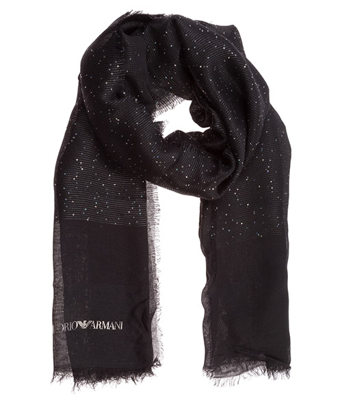 Stola Emporio Armani 6352170a33000020 black